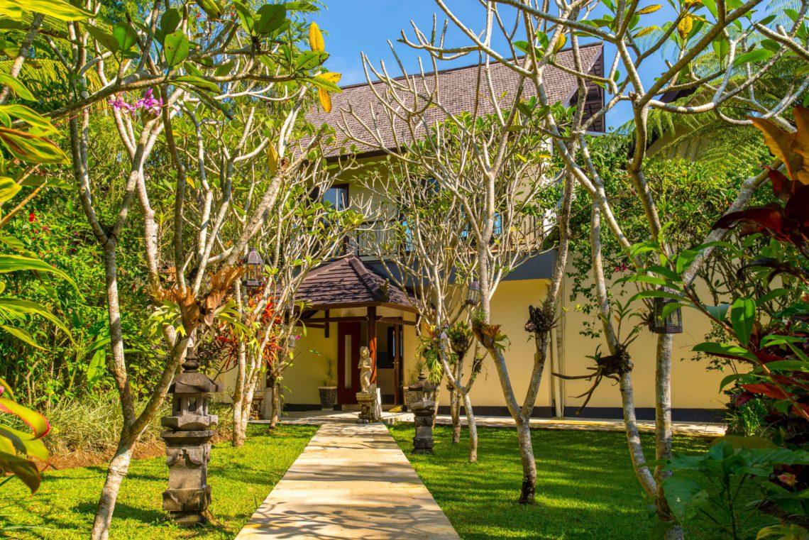 3.1 - Hillside Eden Bali - When you walk through the Tropical Garden ...