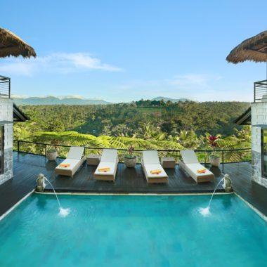 Swimming pool Hillside Eden
