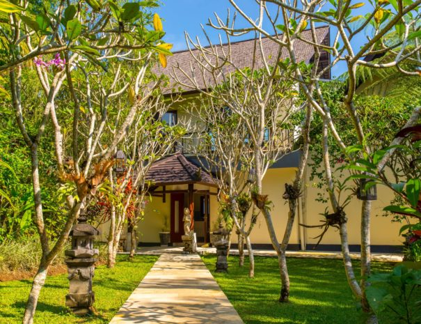 3.1 - Hillside Eden Bali - When you walk through the Tropical Garden you will stumble upon your private residence.